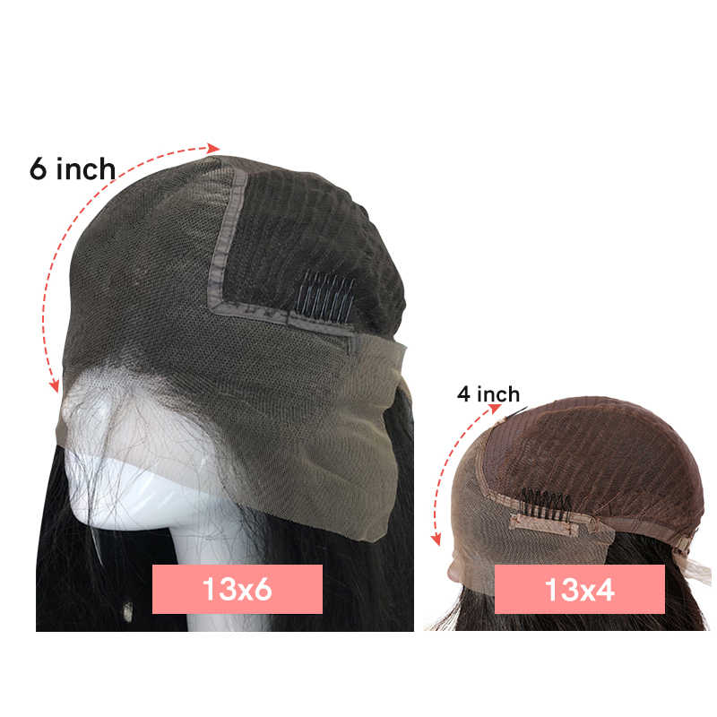 13x4 13x6 brazylijski perwersyjne prosto koronkowa peruka na przód z wstępnie oskubane Hairline 130%/150%/180% gęstości Ali królowa Remy ludzki włos peruka