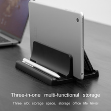 Aluminium Adjustable Vertical Desktop Laptop Holder Stand Bracket for MacBook Pro