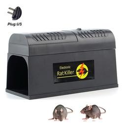 Gryzoni wyeliminować myszy elektronicznych pułapka na szczury wyzwalania użytku domowego wysokiego napięcia z prądem pułapka na mysz Zapper inteligentny w Pułapki od Dom i ogród na