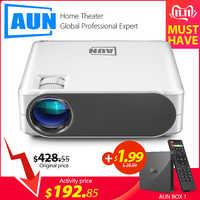 ¿AUN completo HD proyector AKEY6S... 1920x1080P Android WIFI 3D proyector de vídeo MINI proyector LED 4K de cine en casa? (AKEY6 opcional)