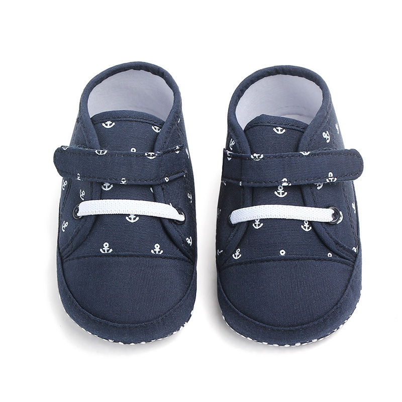 Newborn Baby Girls Boys Shoes Toddler Infant Canvas Training Shoes For Baby Boys Girls Baby Moccasins Prewalkers F142