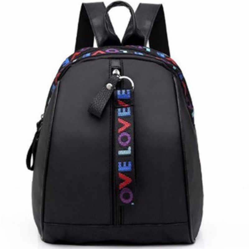 2019 корейский стиль, Женский мини рюкзак, Оксфорд, сумка через плечо для девочек-подростков, Многофункциональный маленький рюкзак, Женский чехол для телефона