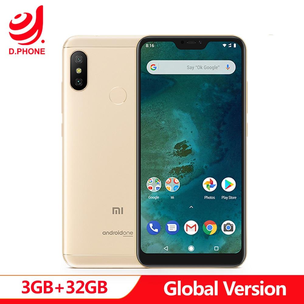 En Stock Version mondiale Xiao mi mi A2 Lite A 2 3GB 32GB Android un Octa Core 5.84