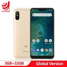 "Stokta küresel sürüm Xiao mi mi A2 Lite 2 3GB 32GB Android bir Octa çekirdek 5.84 ""19:9 tam ekran çift AI kamera Smartphone"