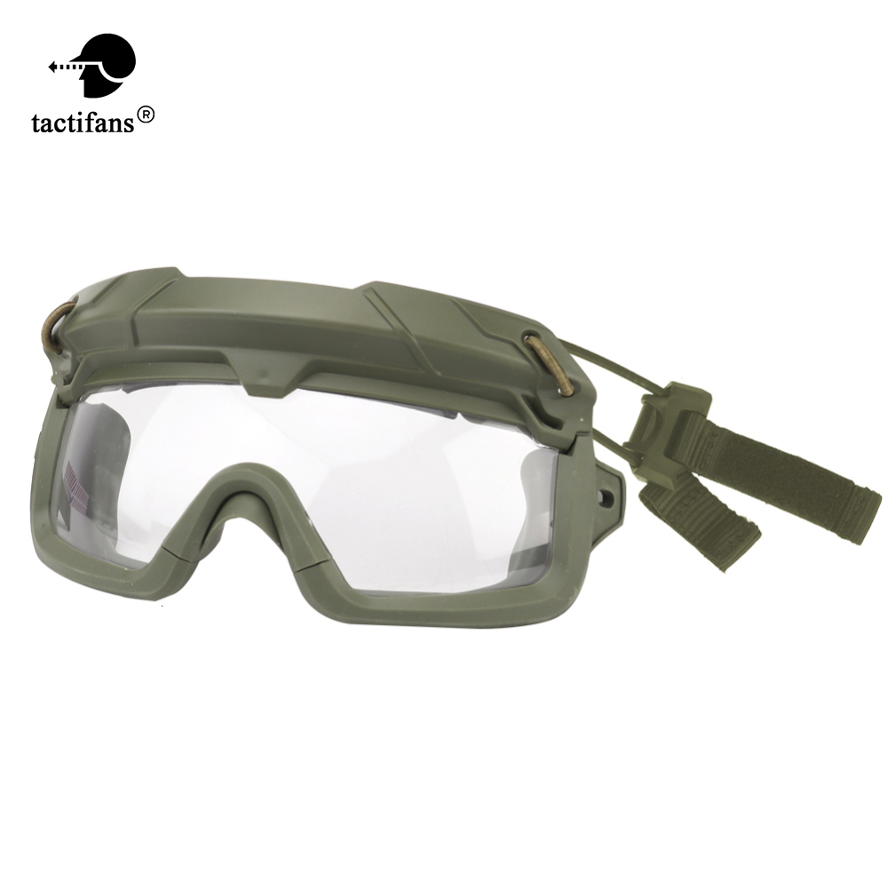 Tactical TMC SF QD Goggle Hiking Eyewears Clear Glasses Eye Protection Outdoor Sport Shooting Airsoft Paintball Military CS Game