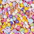 30 шт. разноцветные полимерные цветы украшения поделки своими руками принадлежности для телефона нашивка в виде ракушки искусство Basteln ювел...