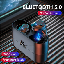 Bluetooth 5.0 Earphones TWS Wireless Bluetooth Earphone Touch Control
