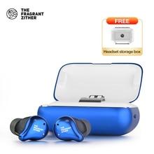 TFZ X1 TWS Bluetooth אוזניות, TWS אלחוטי אוזניות עם מיקרופון 100 + שעות 2200mAh טעינת תיבה עבור כל טלפון חכם