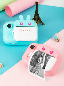 Minibear Kids Instant Camera For Children Print Camera 1080P Digital Camera For Kid Photo Camera Toy Christmas Gift For Girl Boy