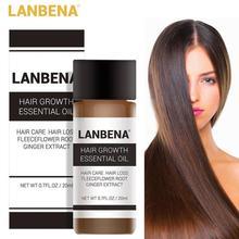 1pc LanBeNA 20ml Powerful Hair Growth Essential Oil Hair Loss Products Liquid Treatment Preventing Hair Loss Hair Care TSLM1 New