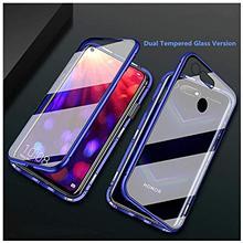 360 закаленное стекло магнитный металлический бампер чехол для телефона для huawei Honor View 20 10 Play 8X MAX Nova 5i 5 Pro Чехол Флип Fundas чехол
