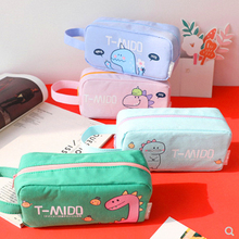Pencil case dinosaur cute estojo escolar estuches Kawaii bag kalem kutusu piornik szkolny ecole Trousse Scolaire estuche lapices