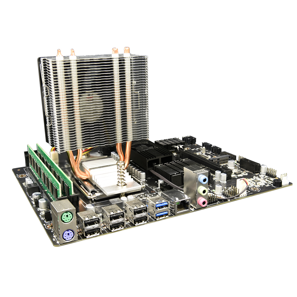 Mainboard Combo X89 Motherboard Set with amd opteron <font><b>G34</b></font> 6128 CPU + 2X 2GB DDR3 1333MHz RAM + CPU Cooler image