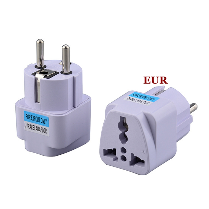 10A European EU Plug Adapter Japan China American Universal UK US AU To EU AC Travel Power Adapters Converter Electrical Charger