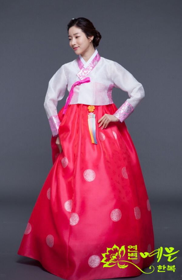 Hanbok Dress Traditional Korean Bride Wedding Ceremony Costumes High Waist Hanbo