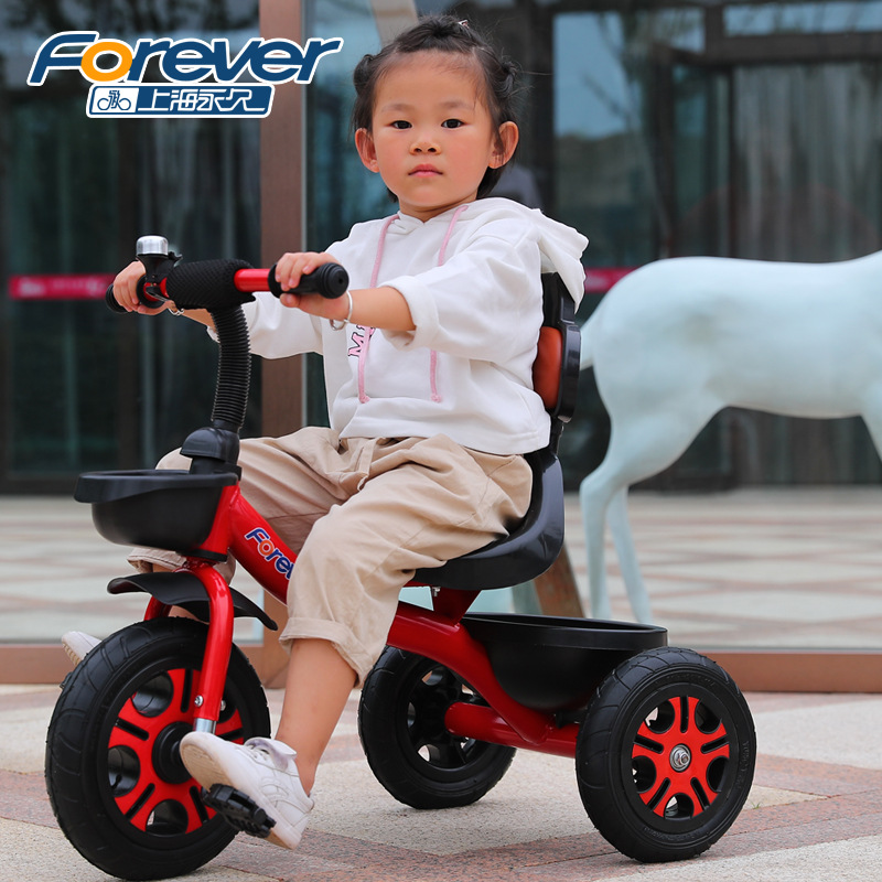 Children's Tricycle Bicycle 2-6 Years Old Baby Bike Kids Scooter With Foot Pedal