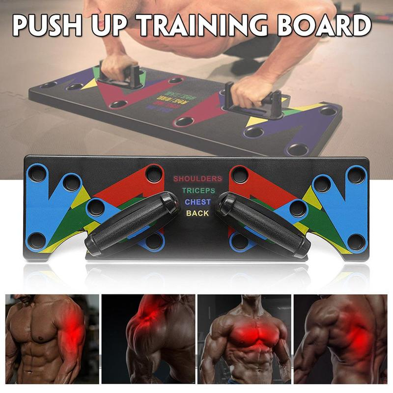 Push up Support Male Fitness Equipment Home Practice Chest Muscle Arm Muscle Type Multi function Push up Board Sports Equipment