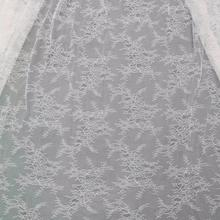 New Fashion  Garment Soft French Lace  Higher Quality Chantilly  Lace Tulle For Wedding Dress