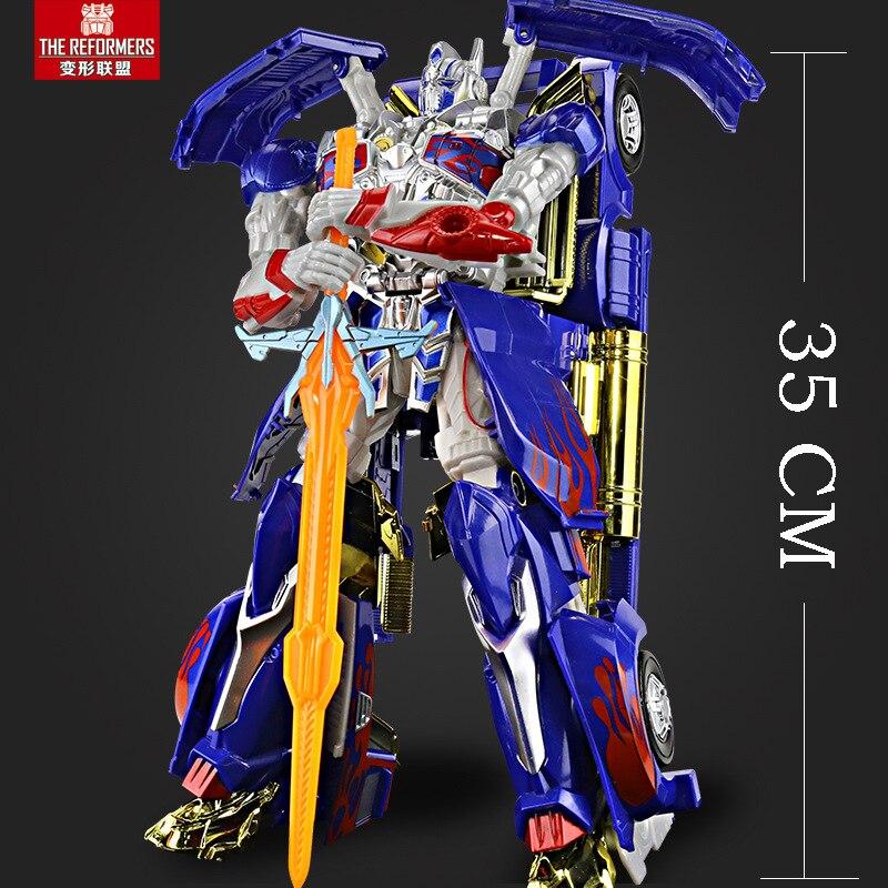 35 см, игрушки-трансформеры, серия роботов Hornets, модель, экшн-игрушки, робот-трансформер из АБС-пластика, игрушка, детские подарки