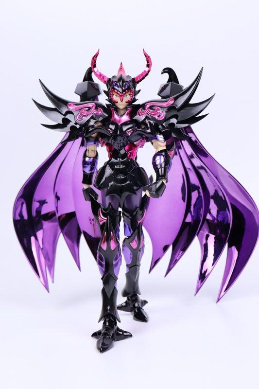 New Arrival chuanshen cs Saint Seiya Specters EX Garuda Aiakos Minos Rhadamanthys action figure Cloth Myth Metal Armor 1