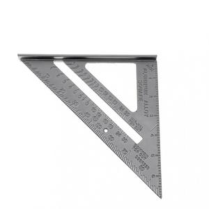 Image 4 - 7 Inch Aluminium Alloy Metal Right Angle Triangle Ruler with 0.1 Accuracy and 1 Scale Value for Industrial Measuring Tool