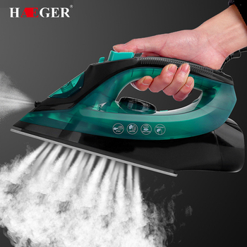 High Power Steam Iron Portable Mini Multifunction Home Handheld Automatic Power-Off Clean Adjustable Electric Irons 2600W