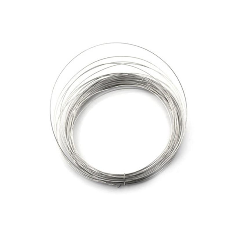 1x10m fio durável 0.5mm nichrome fio 10m resistência resistência resistor awg fio de alta qualidade e novo