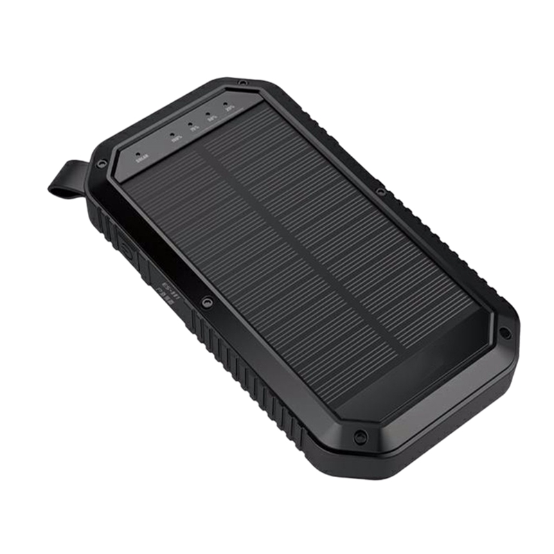 Solar Mobile Power Wireless Charger Waterproof 20000Mah Portable Charging Treasure