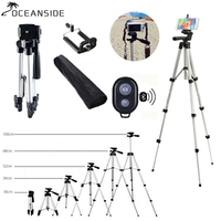 36 100 cm Universal Adjustable Tripod Stand Mount Holder Clip Set For Cell Phone Camera for iPhone XR XS for Samsung S10 S10E