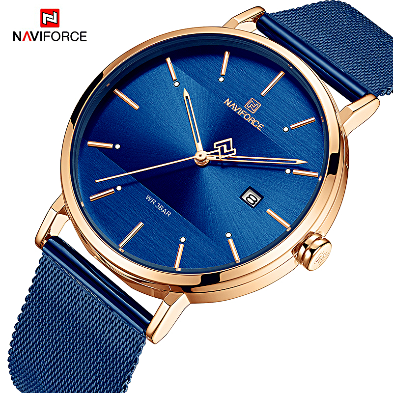NAVIFORCE Women Watches Top Brand Luxury Waterproof Women Watch Fashion Couples Watch Bracelet Donna Orologio Reloj Mujer