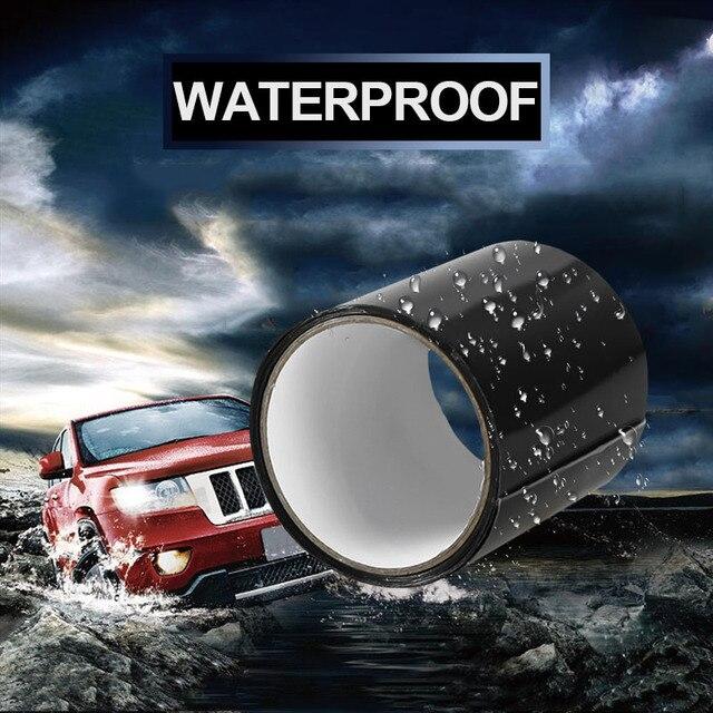 1pc ruban adhésif ruban adhésif pour conduit Super forte Fiber étanche ruban Stop fuites joint réparation ruban Performance auto-fixe