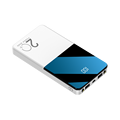 20000mAh Power Bank Dual USB Power Externe Batterie Mit LED Display Schnelle Portable Ladegerät Für Xiaomi huawei
