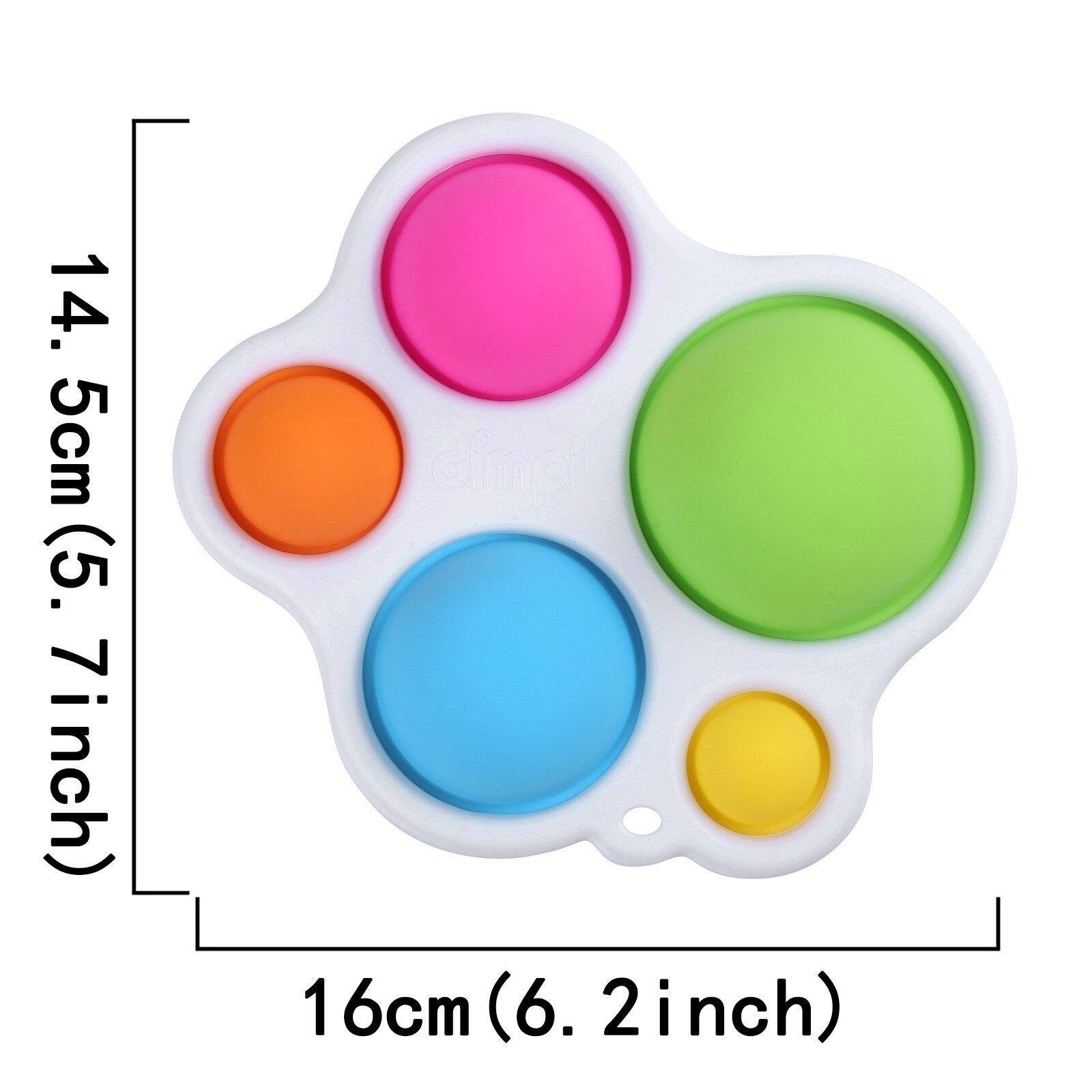 Toy Fidget-Toys Puzzle Baby-Toy Training Simple Dimple It-Sensory Pops Brain-Development-Enlightenment img3