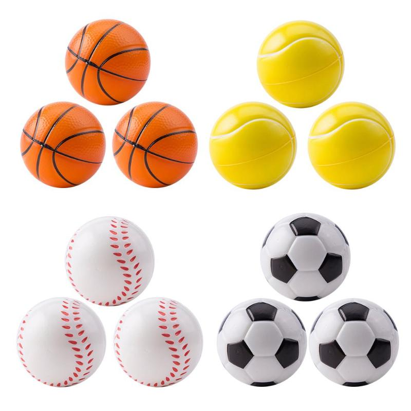 12pcs/Lot Squeeze Ball Funny Stress Relax Emotional Hand Exercise Balls Kids Toys Reduced Pressure Toy Decompression For Kids