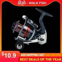 WALK FISH 13 + 1BB Spinning kołowrotek metalowy XS1000-7000 seria kołowrotek wędkarski