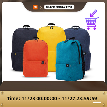 Xiaomi Mi Casual Daypack Original 10L Yellow Blue Urban Leisure Sports Chest Pack Bags Travel Backpack Large Capacity Unisex