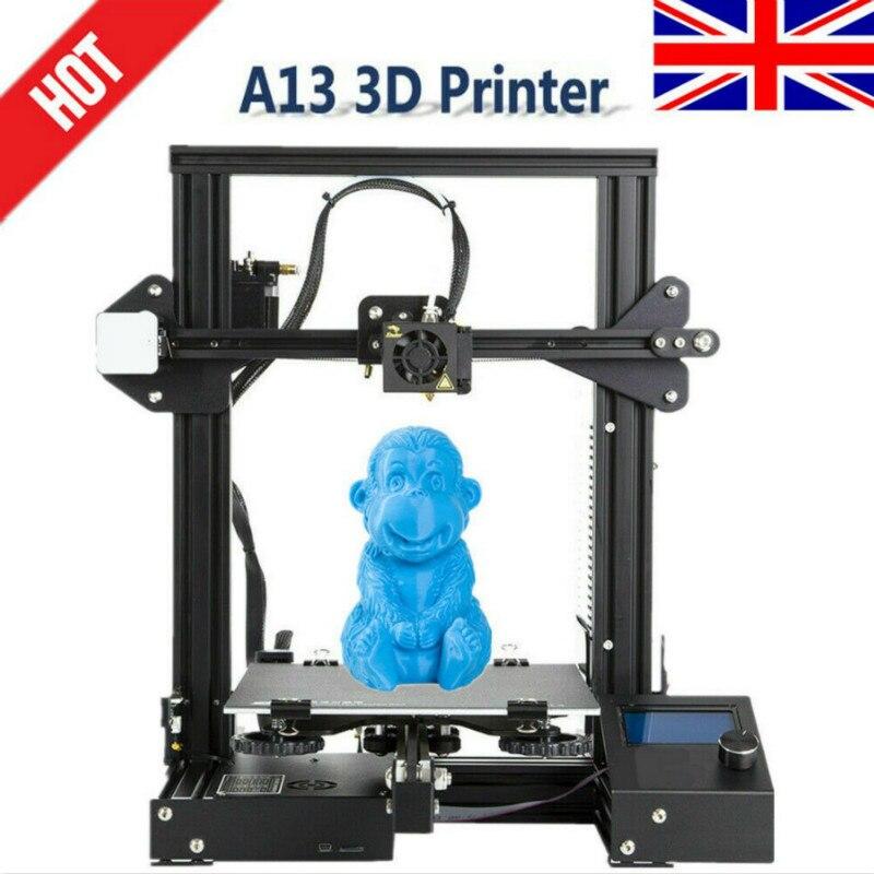 CTC A13 DIY Kit Creality 3D mejorada de alta precisión DIY 3D impresora Auto montaje 220*220*250mm Tamaño de impresión - 5