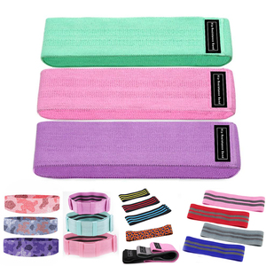 Gym resistance bands set fitness body building Training elastic booty sport band expander Home exercise yoga workout equipments