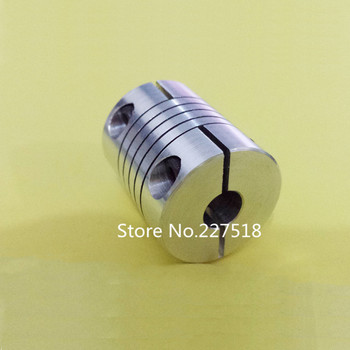 10pcs/lot 5*5mm Flexible Shaft Coupler  5mm x5mm Flexible Coupling  5 to 5mm Coupler D25 L30  5x5mm cnc parts