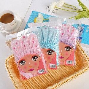 1 шт. волнистая шапка для душа, водонепроницаемая утолщенная Высококачественная эластичная шапка для женской парикмахерской, аксессуары для волос