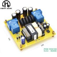 30A yumuşak başlangıç devresi elektrik panosu için sınıf A amplifikatör yumuşak başlangıç bitmiş kurulu yüksek güç amplifikatörü