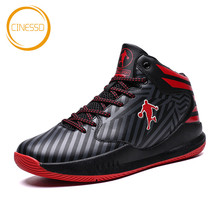 CINESSD New Outdoor Couple Basketball Shoes High Quality Jordan Unisex Cushioning Training Sneakers Breathable Sport