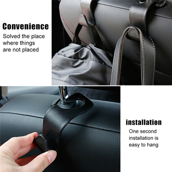Car Accessories Interior Car Back Seat Organizer Car Organizer Storage Bag Universal Hook Car decoration Car styling image