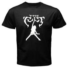 Novo o culto logotipo hard rock banda masculino preto camiseta tamanho s a 3xl-100% algodão
