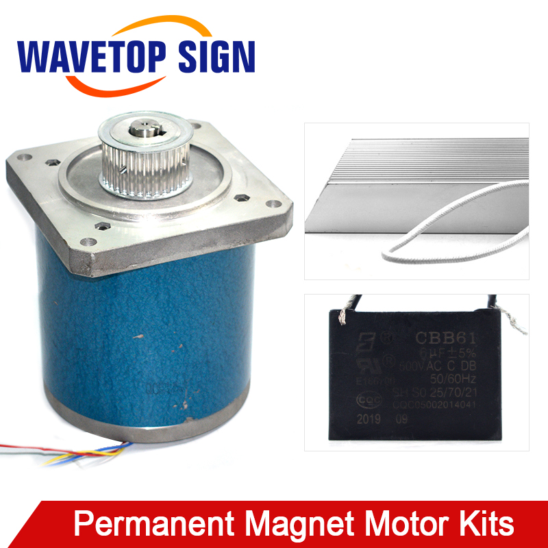 130 Low Speed Synchronous Motor 150W Use For Laser Machine Lifting Table