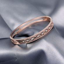 Женский браслет с обшивкой в виде Розы jin taigang холодный