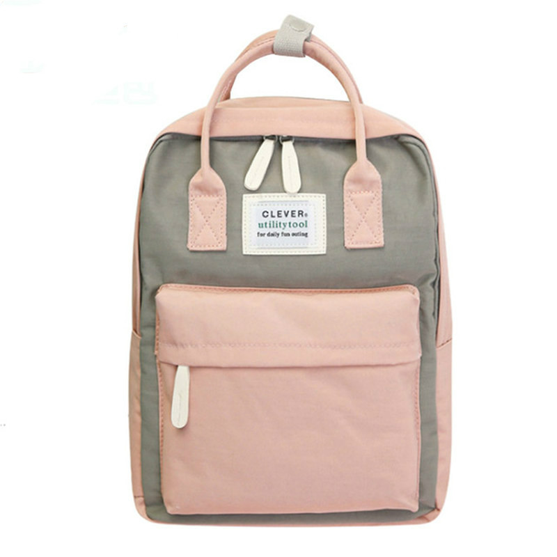 Campus Women Backpack School Bag For Girls Shoulder Bag Canvas Female Bagpack Laptop Back Packs Nylon Backpack Bolsas Mochila