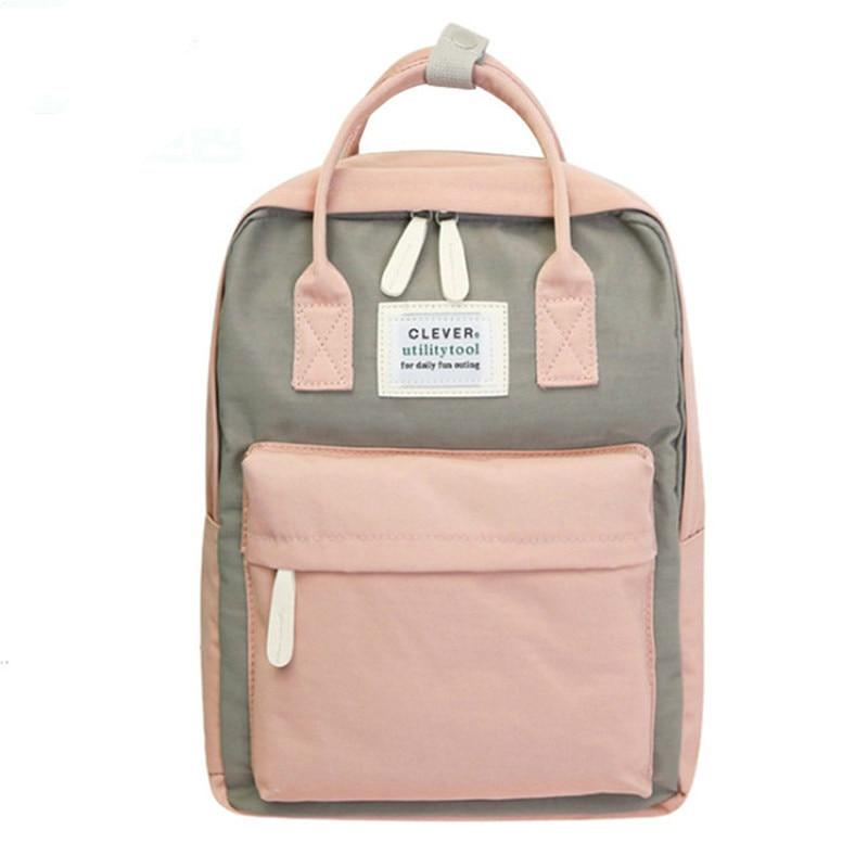 Campus Women Backpack School Bag For Girls Shoulder Bag Canvas Female Bagpack Laptop Back Packs Nylon Backpack Bolsas Mochila