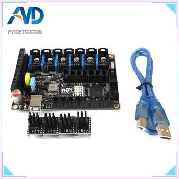 S6 V1.2 Board 32 Bit Control Board MX Connector VS F6 V1.3 SKR V1.3 WIth 4pcs TMC5161 V1.0 Stepper Motor Driver SPI Flying Wire фото