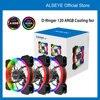 ALSEYE D-Ringer 120mm Aura Sync Computer Case Fan Adjustable RGB Lighting PC Cooler Cooling ARGB Cooling Fan